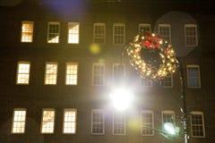 De kroon van Kerstmis Royalty-vrije Stock Afbeeldingen