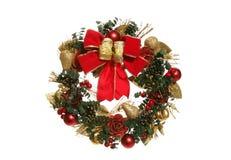 De Kroon van Kerstmis Stock Afbeelding