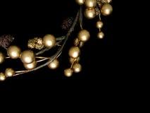 De kroon van Kerstmis Royalty-vrije Stock Foto