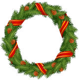 De kroon van Kerstmis Stock Foto's