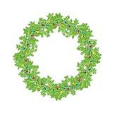 De kroon van Kerstmis Royalty-vrije Stock Afbeelding