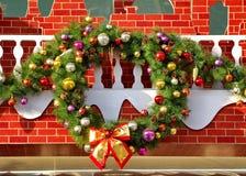 De kroon van Kerstmis Stock Fotografie
