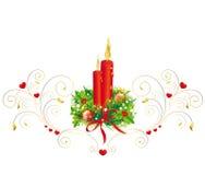 Kerstmiskroon, Kerstmis, nieuw jaar Stock Afbeeldingen