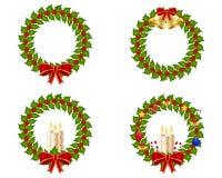 De krooninzameling van Kerstmis Royalty-vrije Stock Fotografie