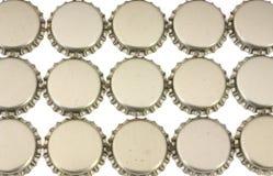 De kroonkurken van het bier Royalty-vrije Stock Afbeeldingen