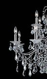 De kroonluchter van het kristal Royalty-vrije Stock Foto's