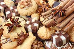 De kruid-cakes van Kerstmis royalty-vrije stock fotografie