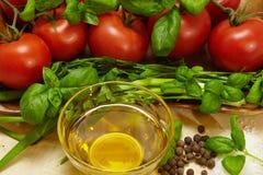 de kruiden van groententomaten royalty-vrije stock fotografie