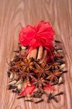 De kruiden van Kerstmis Royalty-vrije Stock Foto's