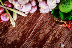 De kruiden van Thailand Stock Afbeelding