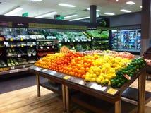 De kruidenierswinkelopslag van de fruitgroente Stock Fotografie