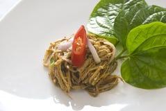 De kruidige Salade van het Bamboe Royalty-vrije Stock Foto