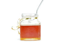 De kruik van de honing stock afbeelding