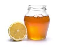 De kruik van de honing stock afbeeldingen