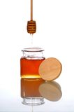 De kruik van de honing Royalty-vrije Stock Afbeeldingen