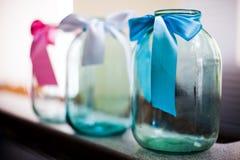 De kruik van het glas Stock Afbeelding