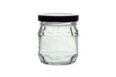 De kruik van het glas Stock Afbeeldingen