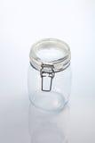 De kruik van het glas royalty-vrije stock afbeelding