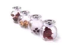 De Kruiken van het glas Royalty-vrije Stock Afbeelding