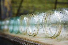 De kruiken van het glas Stock Afbeelding