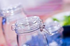 De Kruiken van het glas royalty-vrije stock afbeeldingen