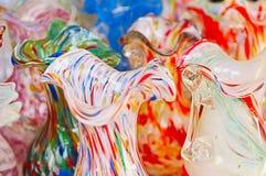 De kruiken van het glas, Murano, Venetië, Italië Royalty-vrije Stock Foto