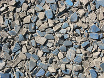 De kruimel van keramische tegels Royalty-vrije Stock Fotografie