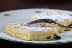 De kruimeltaartcake van de kaas Royalty-vrije Stock Afbeeldingen