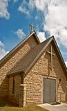 De Kruisen van de kerk Stock Foto's