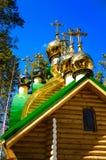 De kruisen van de Ortodoxkerk Stock Fotografie