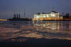 De Kruiserdageraad, St. Petersburg Royalty-vrije Stock Afbeeldingen