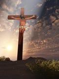De kruisiging stock illustratie