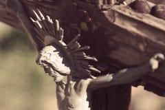De kruisiging van Jesus-Christus Royalty-vrije Stock Fotografie