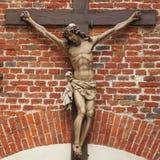 De kruisiging van Jesus-Christus Stock Afbeelding