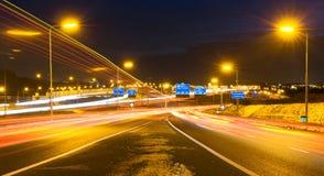 De kruising van de autosnelweg Stock Afbeeldingen