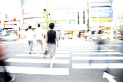 De kruising van de Straat Stock Foto