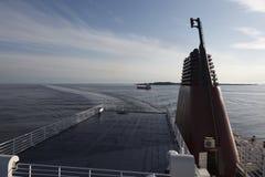 De kruising van de veerboot Stock Foto's