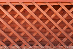 De kruising van hout met spijkers Royalty-vrije Stock Afbeelding