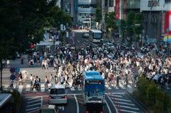 De Kruising van Shibuya Royalty-vrije Stock Fotografie