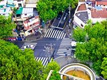 De Kruispunten van Shanghai royalty-vrije stock foto's