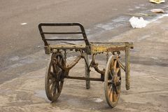 De Kruiwagen van de markt Royalty-vrije Stock Fotografie