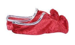 De krul toed schoenen royalty-vrije stock afbeelding