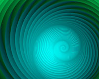 De Krul van Aqua Vector Illustratie