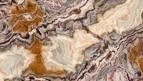 De krullende textuur van de Onyx marmeren Tegel Stock Foto