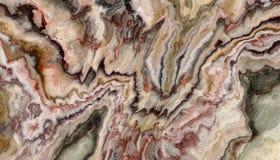 De krullende textuur van de Onyx marmeren Tegel Royalty-vrije Stock Foto's