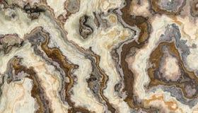 De krullende textuur van de Onyx marmeren Tegel Stock Afbeelding