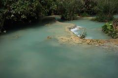 De Kuangsi-Watervallen Royalty-vrije Stock Foto