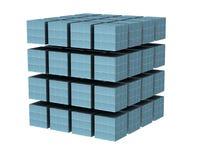 De kubus royalty-vrije illustratie