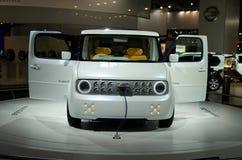 De Kubus EV van Nissan Denki Stock Foto