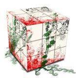De kubus van de lente stock illustratie